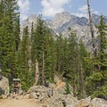Some of your first majestic views.- Cascade Canyon via South Jenny Lake