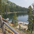 At the boat dock, you are almost to the start of the official Cascade Canyon Trailhead.- Cascade Canyon via South Jenny Lake