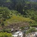 Cascade Canyon.- Cascade Canyon via South Jenny Lake