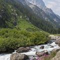 This is arguably the prettiest place in Wyoming.- Cascade Canyon via South Jenny Lake