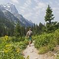 Hiking Cascade Canyon.- Cascade Canyon via South Jenny Lake