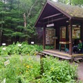 A small nature museum along the trail that surrounds the lake.- Heart Lake Campground