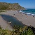 Muir Beach Overlook.- Muir Beach to Stinson Beach via Muir Woods National Monument