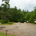 One of the boat launches at Fish Creek Pond State Park.- Fish Creek Pond State Park