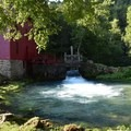 The mill and spring.- Ozark National Scenic Riverway Alley Spring + Mill