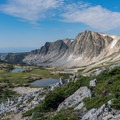 Views continue to get better as you get higher.- Medicine Bow Peak Loop