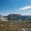 Looking northeast at Browns Peak.- Medicine Bow Peak Loop