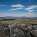 Looking west from the summit.- Medicine Bow Peak Loop