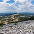 Continuing to descend to Lake Marie.- Medicine Bow Peak Loop