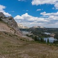 Lake Marie.- Medicine Bow Peak Loop