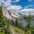 Mirror Lake.- Medicine Bow Peak Loop