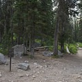 At the end of Cascade Canyon is the fork. Head right to go to Lake Solitude.- Lake Solitude via Cascade Canyon
