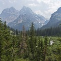 North Fork Canyon is absolutely stunning.- Lake Solitude via Cascade Canyon