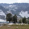Lake Solitude.- Lake Solitude via Cascade Canyon