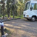There is a 30-foot limit on vehicles.- Lizard Creek Campground
