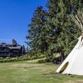 The annex building.- Glacier Park Lodge
