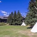 Glacier Park Lodge.- Glacier Park Lodge