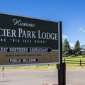 Glacier Park Lodge is the oldest of the historic lodges.- Glacier Park Lodge