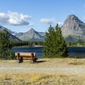 Marvelous views from the campground.- Two Medicine Campground