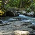 Avalanche Creek.- Avalanche Lake Hike