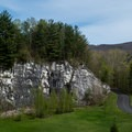 This was once a thriving marble quarry.- Natural Bridge State Park