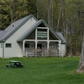 The visitor center at Natural Bridge State Park.- Natural Bridge State Park