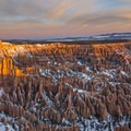 Bryce Point at sunrise.- Bryce Point