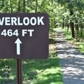Battlefield Overlook is 464 feet from the parking area.- Pea Ridge National Military Park