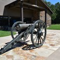 The visitor center at Pea Ridge National Military Park.- Pea Ridge National Military Park