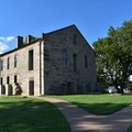 A commissary at Fort Smith National Historic Site.- Fort Smith National Historic Site