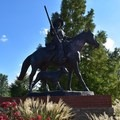 Bass Reeves, the first black deputy U.S. marshal west of the Mississippi River.- Fort Smith National Historic Site