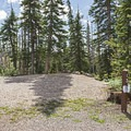 A typical site at Point Supreme Campground.- Point Supreme Campground