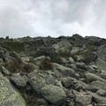The rocky scramble to the top of Mount Madison.- Presidential Traverse