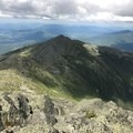 Looking down on Mount Madison from the top of Mount Adams. - Presidential Traverse