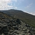 A well-made smooth rock path connects Mount Clay and Mount Washington. - Presidential Traverse