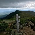 Crawford Path continues past Mount Monroe toward Mount Franklin.- Presidential Traverse
