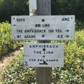 The trailhead for Valley Way at Appalachia.- Presidential Traverse