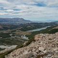 Nearing the top, looking at Laguna Madre.- Laguna des los Tres