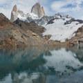 Down by Laguna de los Tres.- Laguna des los Tres