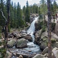Alberta Falls.- Andrews Glacier Trail