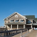 The pier house and education center were renovated in 2009.- Jeanette's Pier and Beach Access