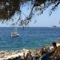 Looking out onto the Adriatic Sea. Photo by Drew Smith.- Sveta Katarina