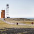 The Hvalnes Lighthouse.- Hvalnes Lighthouse