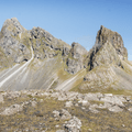 Mount East Horn to the west.- Hvalnes Lighthouse