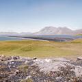 Overlooking the Hvalnes Nature Reserve.- Hvalnes Lighthouse