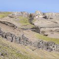 Signs of volcanic activity and erosion along the gorge.- Litlanesfoss and Hengifoss