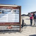 An information sign out front.- Mývatn Nature Baths