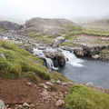 Excellent views of waterfalls along the bank.- Neðri-Stafur and Seyðisfjörður