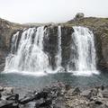 A magnificent waterfall along the Fjardara.- Neðri-Stafur and Seyðisfjörður