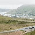 Descending into Seyðisfjörður.- Neðri-Stafur and Seyðisfjörður